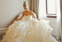 Wedding Loves  / It's too late for me, but a girl can still get lost in flowers and tulle  / by Anne Knight