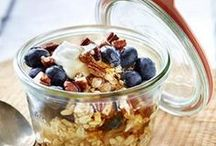 Porridge, Overnight Oats and Chia / Start with a healthy breakfast / by sodapop-design