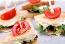 Appetizers  / finger foods, tapas and other starters  / by Wendy Easter