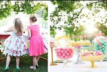 STYLING | Kid's Tea Party / A FEW SUGGESTIONS: Layer (collared shirt under a t-shirt or pattered tank under a textured cardigan) Play with texture and pattern (Wide Stripes, Thin Stripes, Polka Dots, Color Blocking, Plaid, Floral, Chambray, Denim, etc.) Accessorize (can you add a hat, scarf, hair bow, head scarf, bandana, necklace?) It's ok to bring options! We can help you edit on site before your session