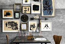 Cool gallery walls