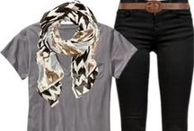 College Outfits / by Kimberly Cheney