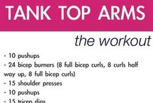 Workout: Upper Body / arms, shoulders, neck, face, chest, upper back / by Michelle Brown