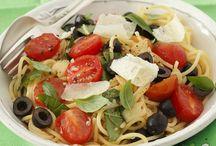Kochrezepte: Pasta & Nudeln / Nudel- und Pastagerichte mit Fleisch, Gemüse oder Fisch - hier ist für alle Nudel-Liebhaber etwas Leckeres dabei.