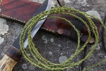 Cordage / Cordage is one of THE most useful and versatile tools/resources in a survival situation. Don't make the mistake of underestimating it. Get to know different types of cordage and their appropriate uses/applications! And don't forget to learn some useful KNOTS!!