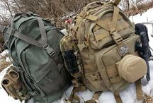 Bug Out Bag / If you plan on bugging out, you are going to A) need a bag to do it with and B) know what to put in it for your bug out plan!