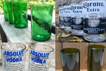 Oh! Rubbish! GLASS projects {upcycled, recycled, repurposed} / Upcycled, Recycled, Repurposed Projects and Crafts for all things GLASS!
