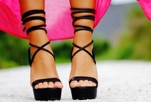 """SHOES • SHOES • SHOES / """"In order to be irreplaceacle, one must always be different."""" - Coco Chanel"""