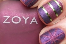 """NAIL ART / """"Whenever you find yourself on the side of the majority, it is time to pause and reflect."""" - Mark Twain"""