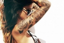 """TATTOOS • BODY MODS / The Body is a canvas. """"Art enables us to find ourselves and lose ourselves at the same time."""" - Thomas Merton"""