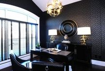 Office & Library / Contemporary, Transitional & Traditional Home Office Designs   / by Wendy Tomoyasu