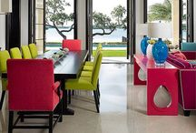 Color Scheme  / Harmonious & Colorful Interiors Inspire By Nature  / by Wendy Tomoyasu