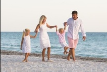 What to wear for Siesta Key Beach Portraits / White and khaki looks great on the white sand beach at Siesta Key!