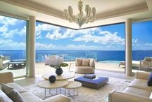 Beach Houses  / Luxury Property Around The World With An Awesome Ocean View / by Wendy Tomoyasu