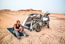 Adventure Bikes / When 4 wheels aren't an option, 2 wheels just might be! Check out these tricked out adventure bikes and get some inspiration for your own 2 wheeled bug out vehicle!