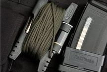 Accessories / All kinds of killer survival accessories to help you keep your gear organized and accessible! Kydex, molle, carabiners and so much more!