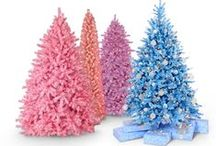 Pastels Collection / Our pastel colored Christmas trees translate your dainty traits to your decor