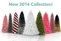 Our 2014 Collection / Embrace the holidays with our latest artificial Christmas trees! Which one is your favorite?