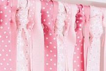 Pretty In Pink Decor / Sugar, spice, and everything PINK! Sweet like a cupcake, these pink decorating inspirations are a little girl's dream come true. Come pin your favorite pink things with us! / by Treetopia Christmas Trees