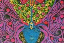 PSYCHEDELICS. / Mind altering substances.