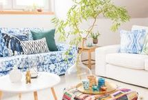 BEMZ ♥ SO LEB ICH / We teamed up with our friends over at SoLebIch.de - Germany's leading online design community - to create 10 different Bemz summer looks. IKEA sofas are given an instant update with our customizable slipcovers (available in over 250 colours!)
