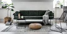 : BEMZ X TOM DIXON : / Bemz and Tom Dixon have teamed up to create a collection of designer covers for IKEA's Delaktig living platform.