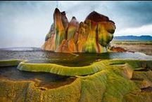 Interesting Landscapes on Earth / I love being reminded of the Creator's magnifience through the features of the earth.