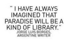 Books, Reading, Writers, Libraries, and Bookstores / Images of writers, libraries and bookstores as well as inspirational thoughts on books and reading.