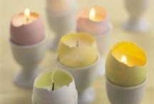 Pâques tutos / Easter craft / Des idées créatives pour fêter Pâques et avec lui, l'arrivée du printemps. Au programme : des oeufs, des lapins et des poules sous toutes les formes ! Une sélection de créations que tout le monde peut faire. Easter craft ideas
