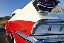 Classic cars / Fins, chrome, details and curves. Celebrating the amazing cars of yesterday along with the artful recreation of many of these iconic rides. / by Local Delmarva