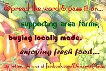 Delmarva Made / It's very important to me to support my local community and people. Learning about how many food products are now trucked in from far away is disturbing and it seems that we can do no better than to choose locally grown foods. Farm stands, markets, bakeries, indie grocery stores which choose to purchase from area farms - all of these are ways we can choose better. To learn more join us at Made in the USA Delmarva ~ http://www.facebook.com/Delmarva Made   / by Local Delmarva