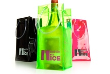 BOTTLE On ICE / Bottle On Ice: drinks... so nice! Ice bucket wine bags, Color glass bottles, Leather coasters..  / by ORTU traders
