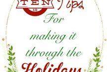 {Holidays} Christmas / Christmas crafts, decor, gift ideas, kids crafts, Christmas brunch, Christmas dinner recipes and more
