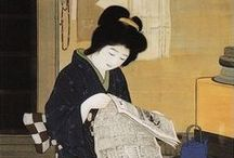 Japonisme / Is, literally,  the influence of Japanese art, fashion and aesthetics on Western culture but in this case, also on me personally.