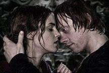 Ron & Hermione / by Justin Burlin