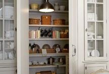 KITCHENS: Pantries & Dish Storage