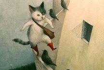 Illustrations from children's books