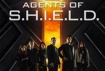 """Agents of S.H.I.E.L.D. / """"Not all heroes are super."""" / by Justin Burlin"""
