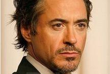 Tony Stark/Robert Downey, Jr. / GENIUS. BILLIONAIRE. PLAYBOY. PHILANTHROPIST. / by Justin Burlin