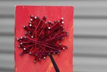 """Tack: Ideas / One of Pin & Tack's specialties is tacks. Little """"nails"""" that hold up things while looking oh, so lovely. Explore the different ways to use them, then pick up a few sets to work your crafty, home design magic: https://www.etsy.com/shop/PinAndTack?section_id=10048459&ref=shopsection_leftnav_6"""