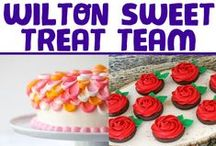 A Few of Our Faves / The Wilton Sweet Treat Team consists of bloggers who love to bake, decorate and celebrate with Wilton. We will be sharing all of their sweet treat recipes, ideas and inspiration on this board. / by Wilton Cake Decorating