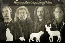 """The Marauders / Moony, Wormtail, Padfoot, and Prongs, Purveyors of Aids to Magical Mischief Makers Are proud to present THE MARAUDER'S MAP"""". Remus Lupin (Werewolf) - Mooney. Peter Pettigrew (Rat) - Wormtail. Sirius Black (Dog) - Padfoot. James Potter (Stag) - Prongs.  / by Justin Burlin"""