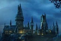 Hogwarts School of Witchcraft & Wizardry / by Justin Burlin
