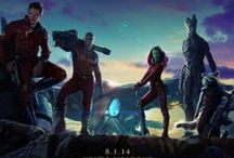 Guardians of the Galaxy / Let's do a head count here: we've got a madman hell-bent on revenge, the deadliest woman in the galaxy, a petty, arrogant thief, a talking, mutant raccoon and his house plant/bodyguard a giant, talking tree. / by Justin Burlin