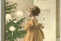 """""""I will honor Christmas in my heart, and try to keep it all the year."""" --Charles Dickens / Being an eclectic mix of things that make for a happy Christmas."""