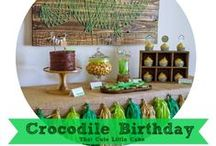 Crocodile Party / by That Cute Little Cake