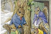 Little rabbits and squirrels....it's an in joke.