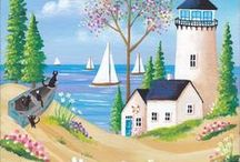 Spring and Summer Illustrations