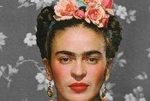 Frida / Images of Frida Kahlo and her art.