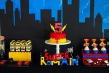 Superheroes party / by That Cute Little Cake